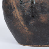 Hand Thrown Ceramic Vessel in Ebony Glaze