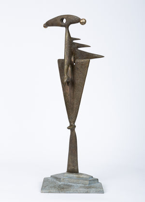 Bronze Brutalist Sculpture by Michael McCleve