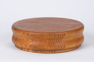 Studio Craft Turned Oak Cutting or Serving Board