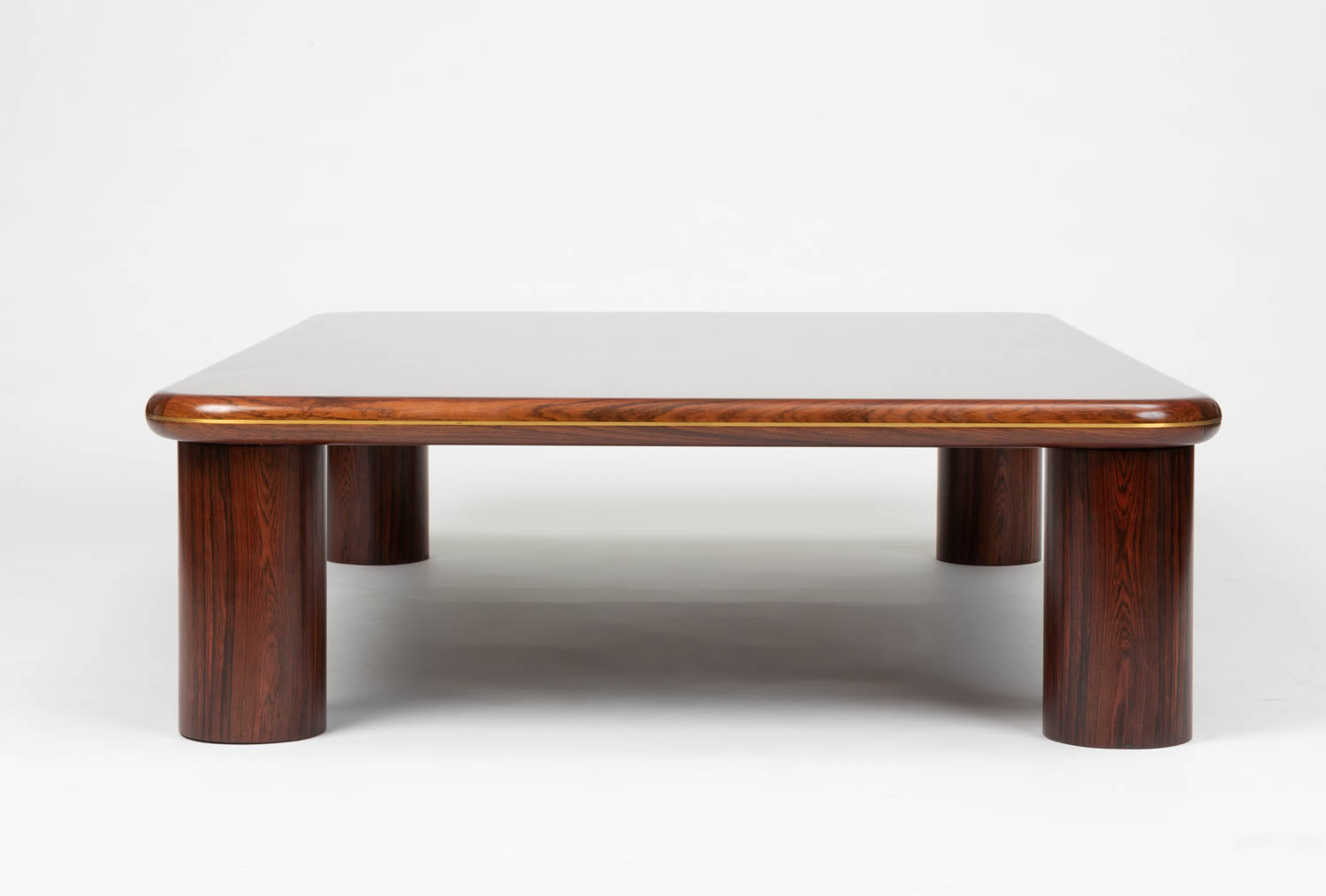 ON HOLD ** Monumental Danish Rosewood Coffee Table