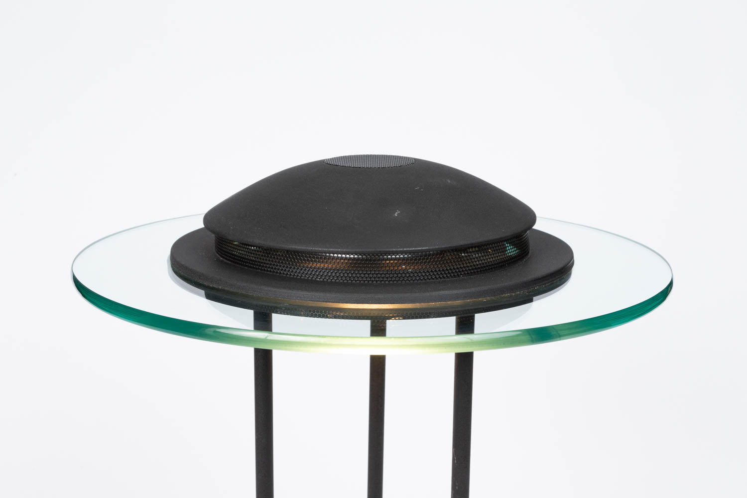 "Robert Sonneman ""Saturn"" Table Lamp for George Kovacs"
