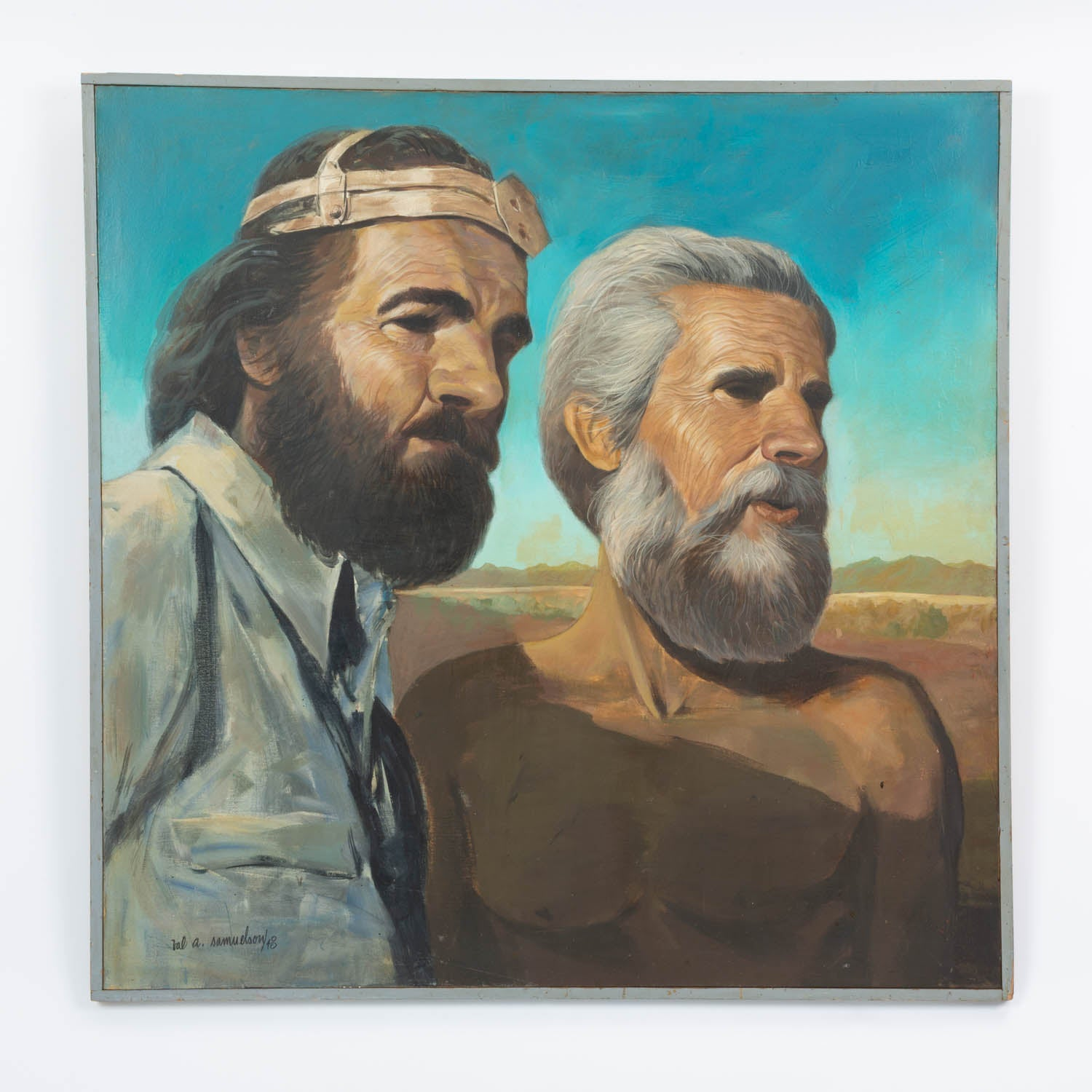 "Val Samelson ""The Prospectors"" Painting"