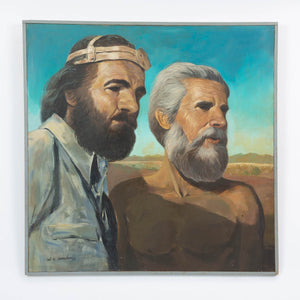 """The Prospectors"" Painting by Val Samuelson"