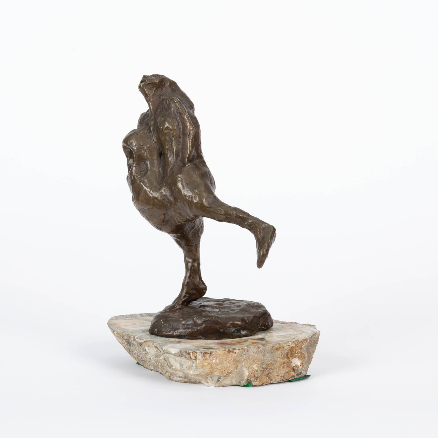 Bronze Sculpture of Dancing Woman