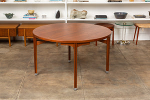 Jens Risom Round Dining Table