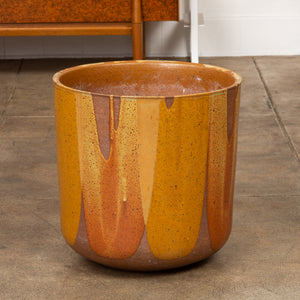 ON HOLD ** David Cressey LT-24 Flame-Glazed Planter for Architectural Pottery