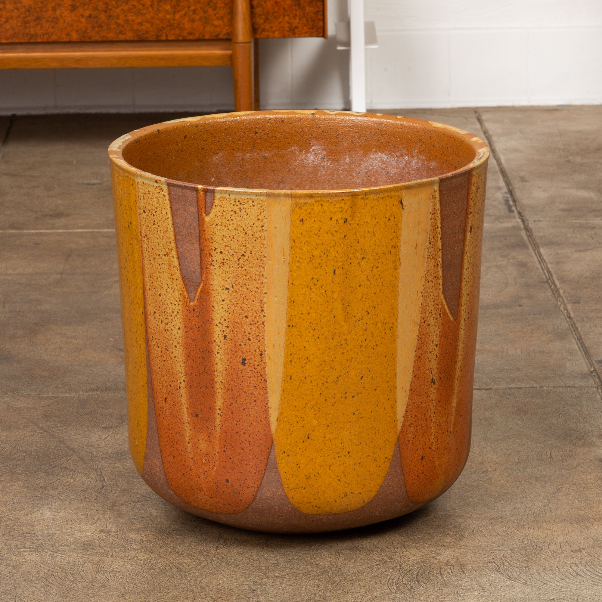David Cressey LT-24 Flame-Glazed Planter for Architectural Pottery
