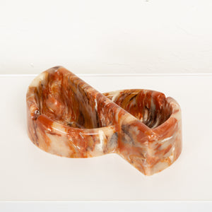 Sunlight Industries Geometric Resin Ashtray