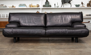 Leather Sofa by Brayton International