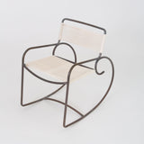 Walter Lamb for Brown Jordan Bronze Patio Rocking Chair