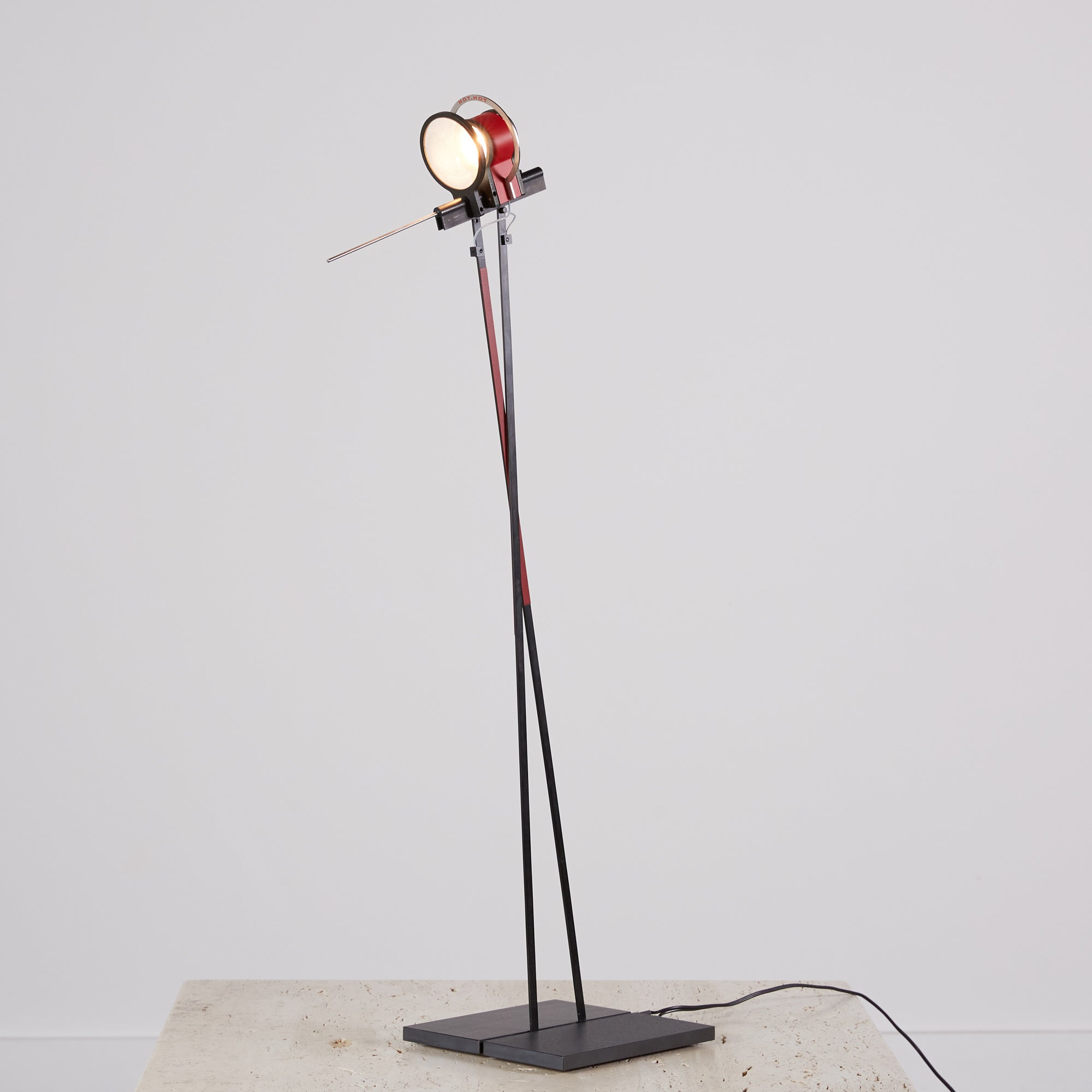 "Ingo Maurer ""Hot.Hot"" Table Lamp"