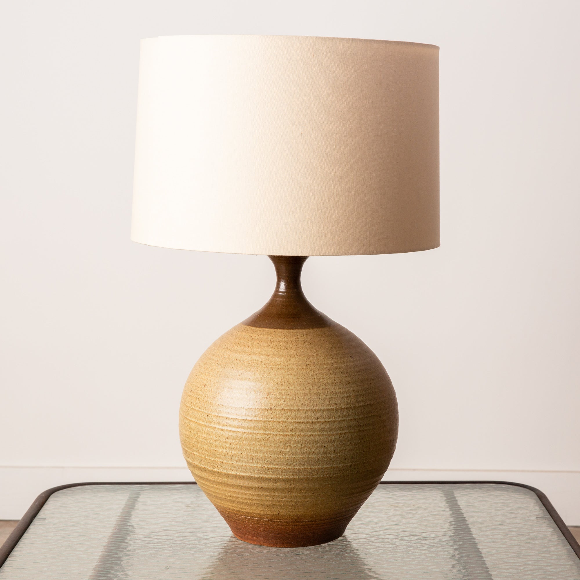 Bob Kinzie for Affiliated Craftsmen Stoneware Table Lamp