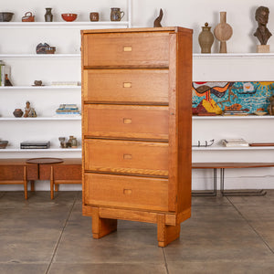 Oak Filing Cabinet by ER Staverton