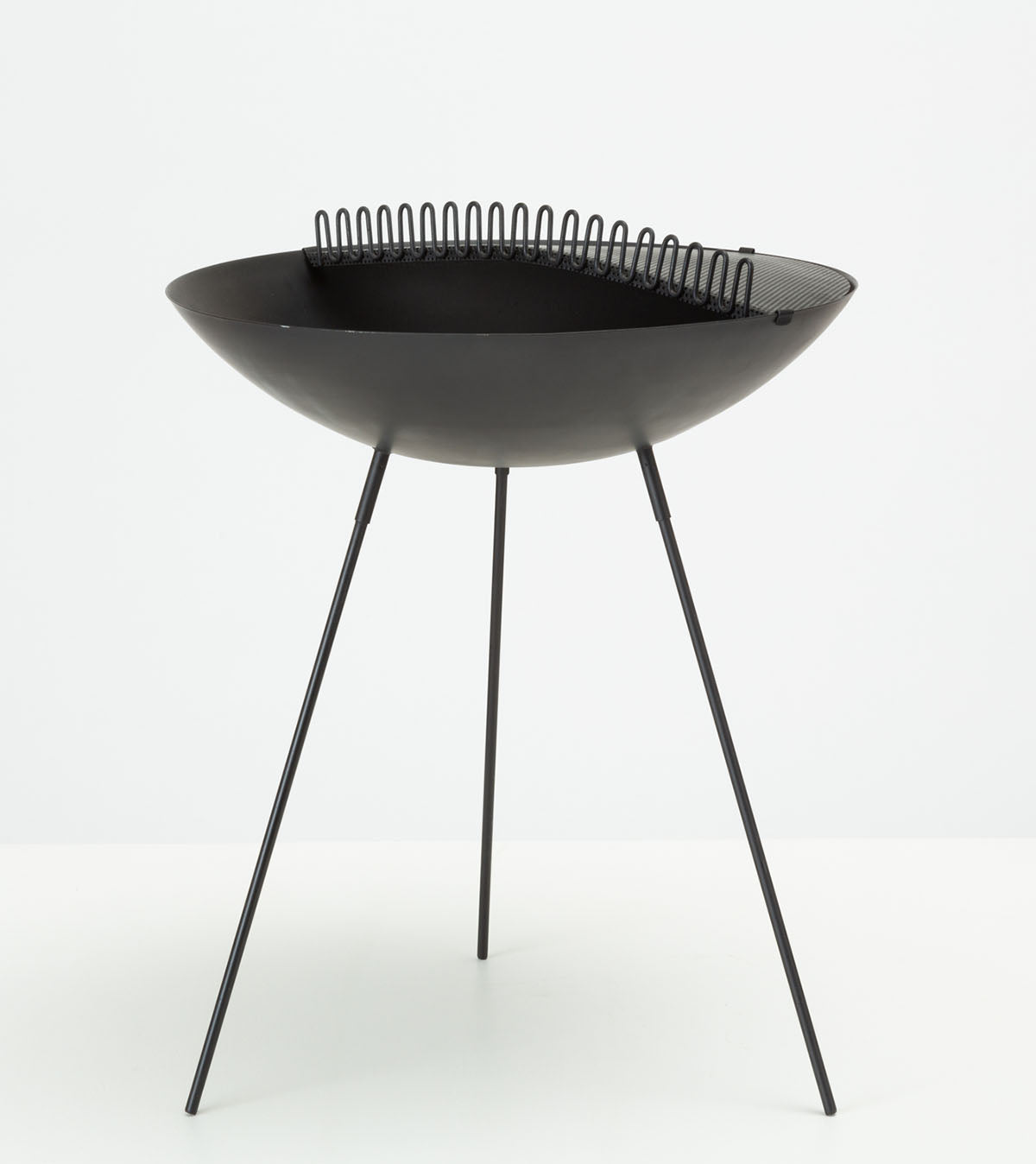 Gross Wood & Co Tripod Ashtray