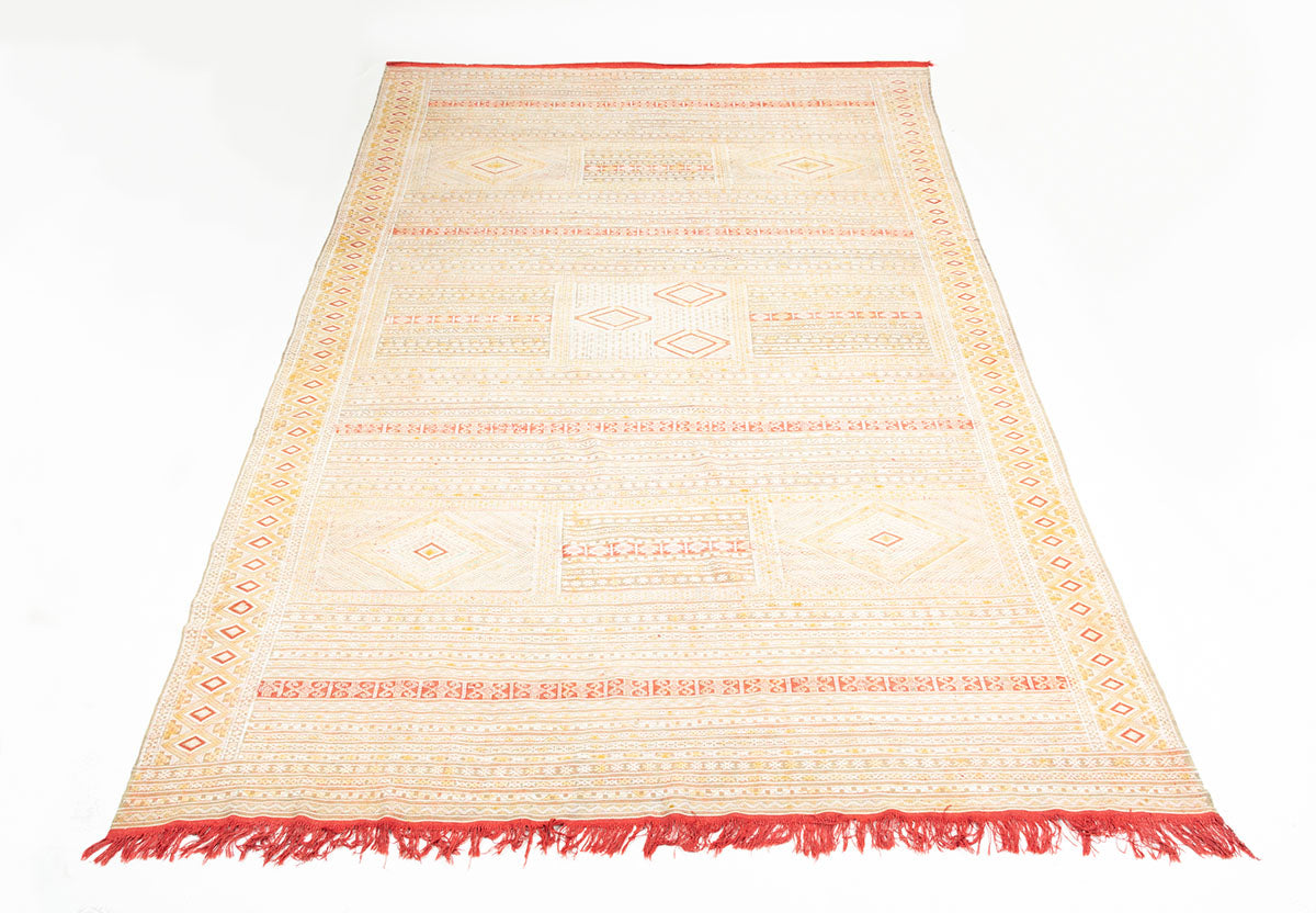 Intricate Soumak Area Rug