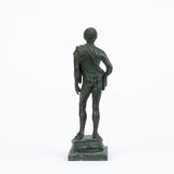Cast Bronze Male Figurine