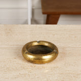 Brass Modernist Ashtray