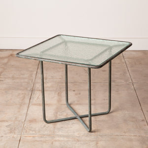 Walter Lamb for Brown Jordan Bronze Patio Square Side Table