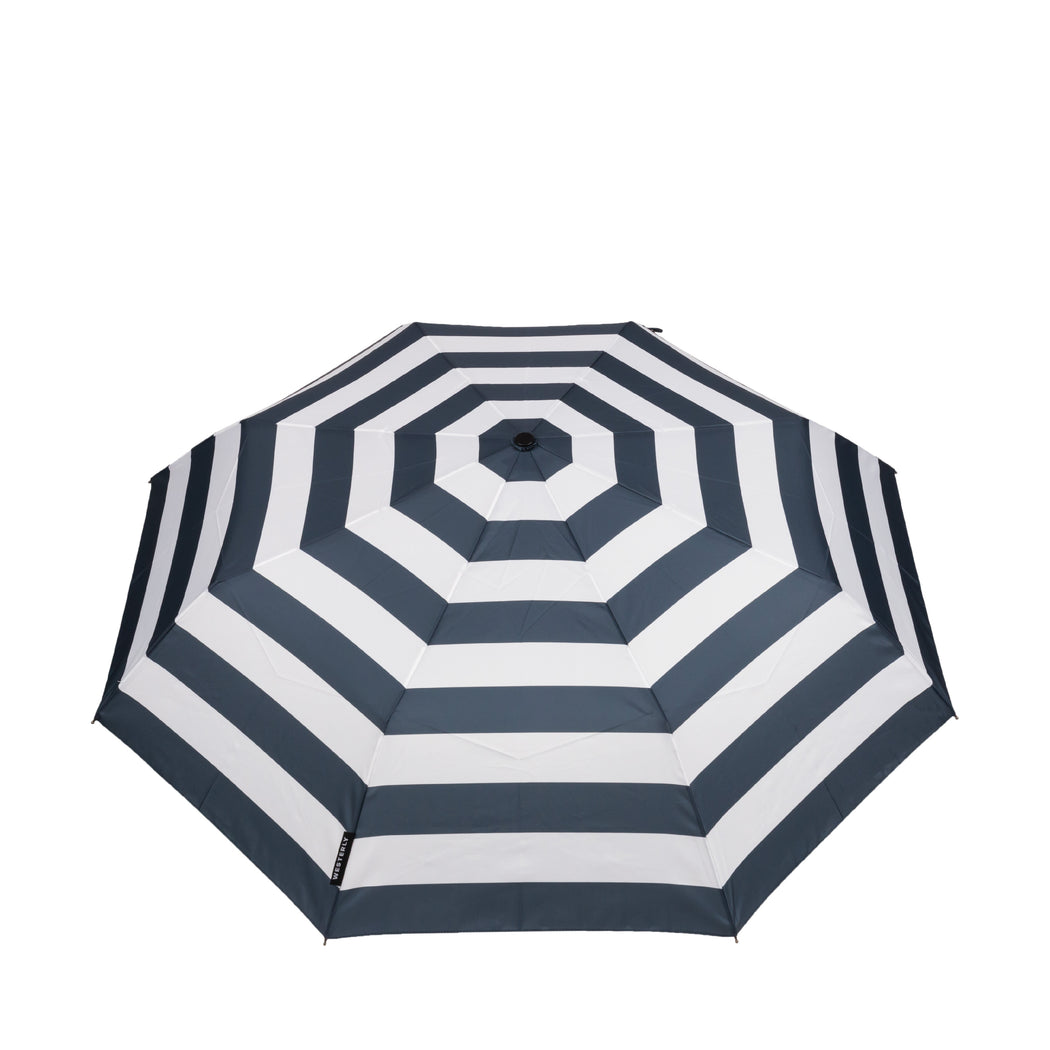 Drifter Amalfi - Navy and White Striped Umbrella