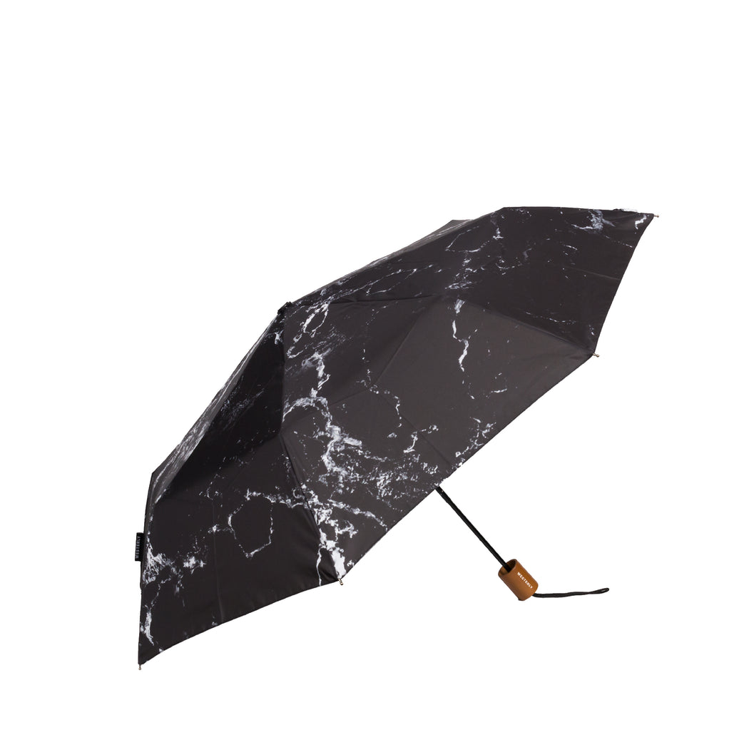 Drifter Dark Water - Black Marble Umbrella