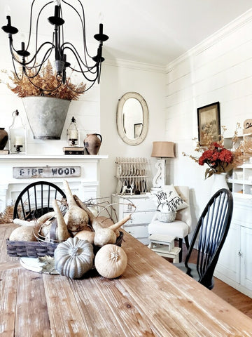 Faded and Muted Fall Neutral Home Decor