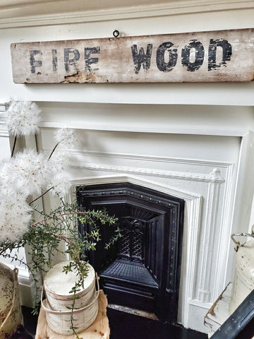 Decorating Your Home Using Old Antique Signs From A Flea Market