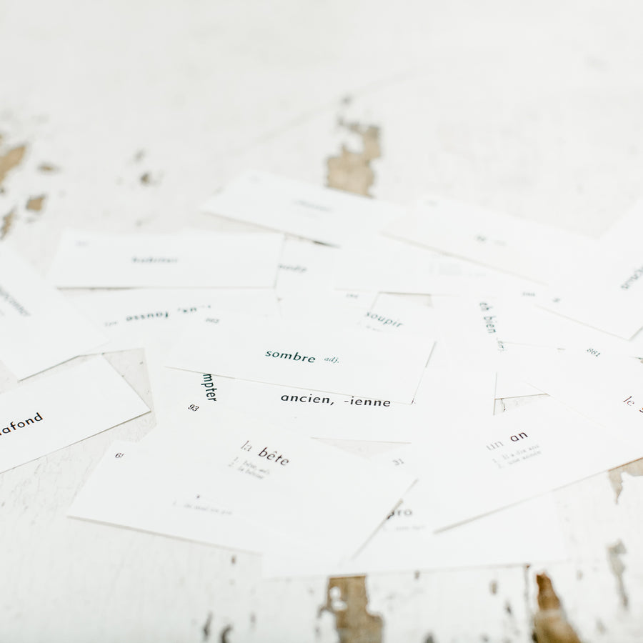 Bundle of 20 French Word Tags