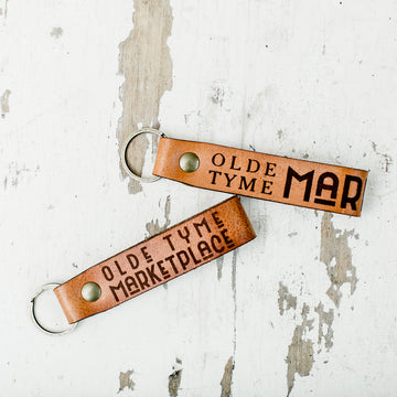 OTM Leather Key Chain
