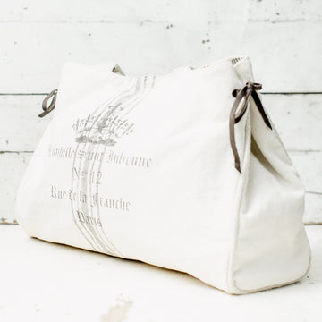 Paris Canvas Grain Sack Tote
