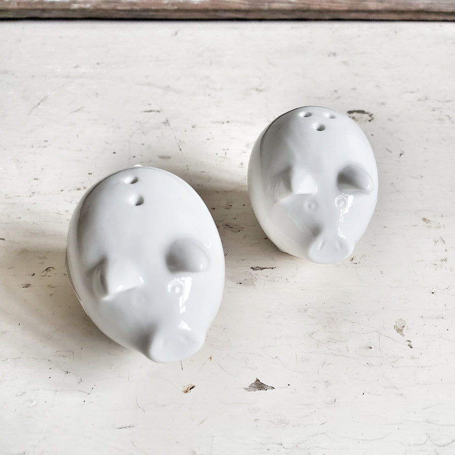 Little Pig Salt and Pepper Set