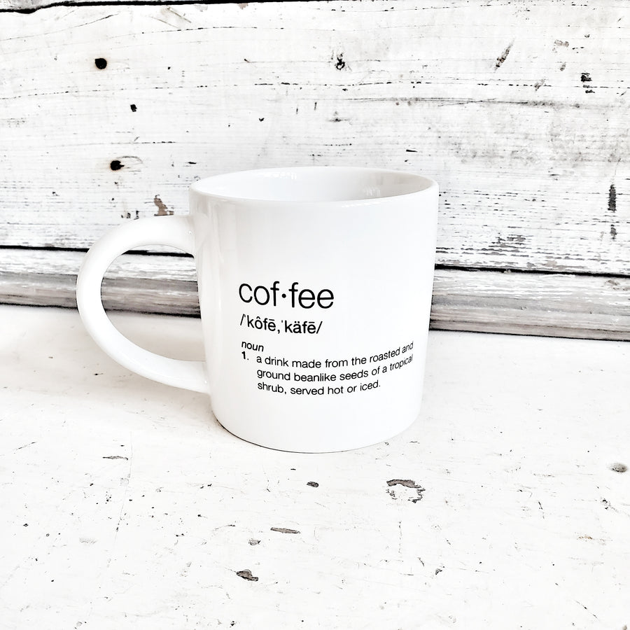 Coffee Definition Mug