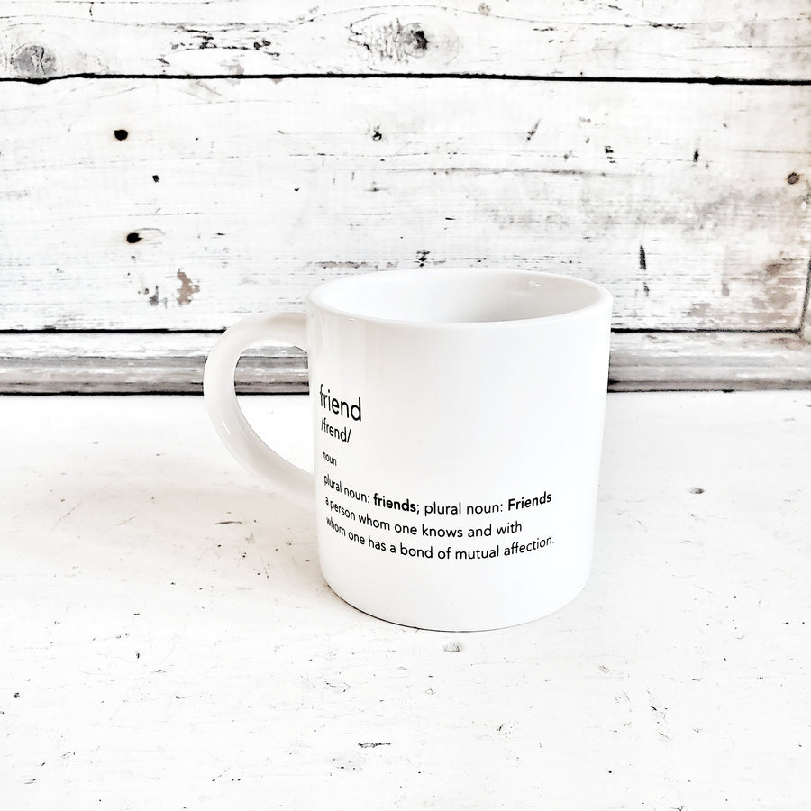 Friend Definition Mug