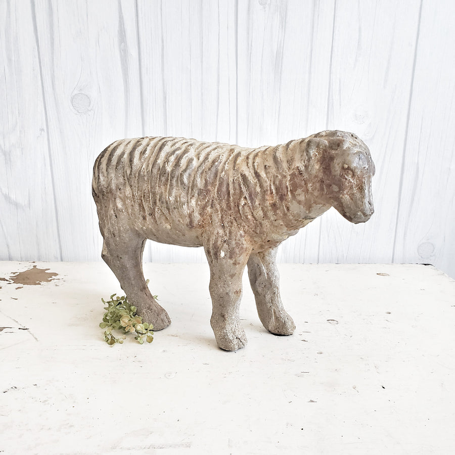 Rustic Standing Sheep