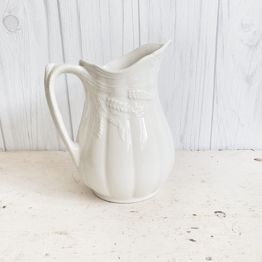 Vintage  Royal Crownford  Ironstone Pitcher