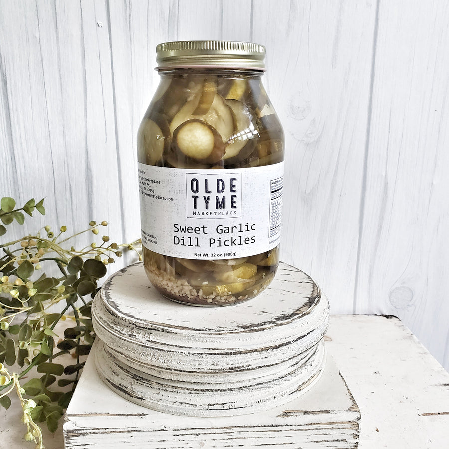 Sweet Garlic Dill Pickles