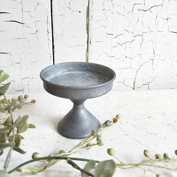 Galvanized French Style Cupcake Stand