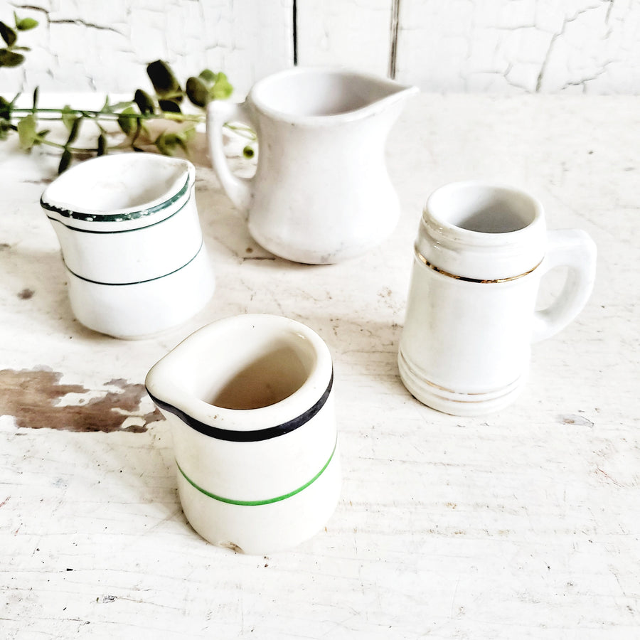 Instant Vintage Ironstone Creamer  Collection