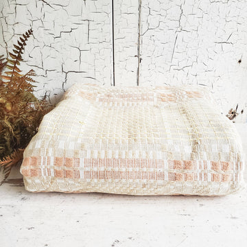 Vintage Woven Coverlet Kentucky Coverlet Industries