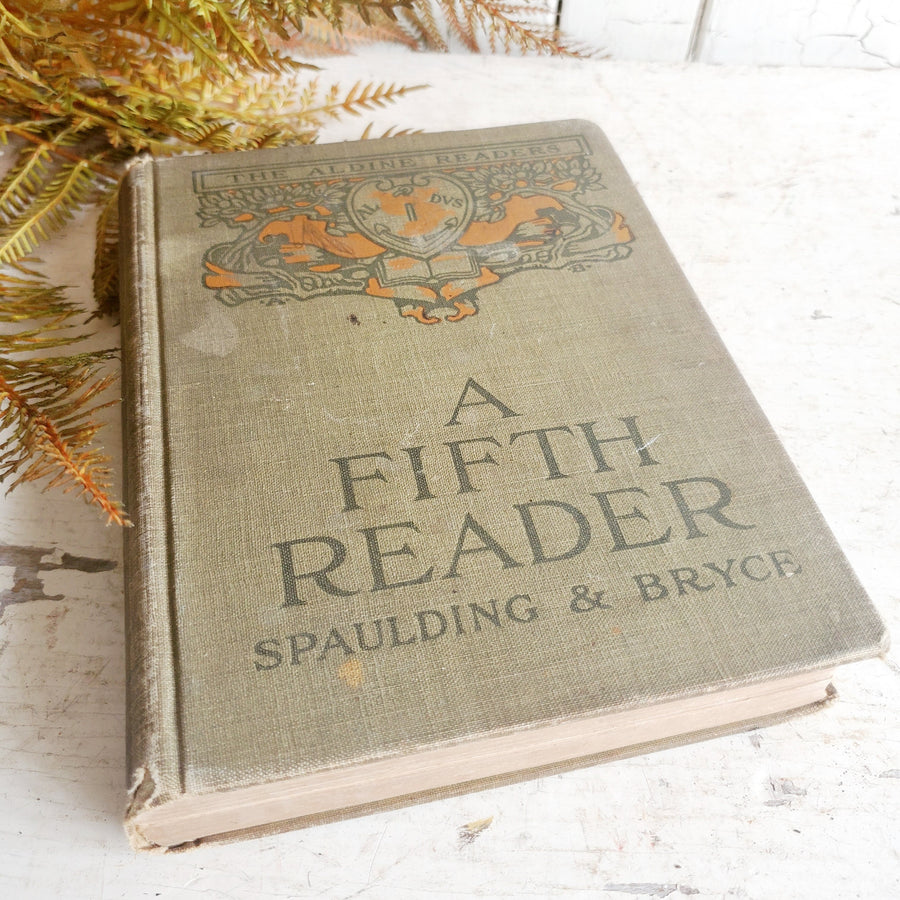 Vintage A Fifth Reader Book