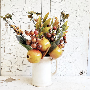 Gathered Fall Fruit Bunch