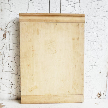 Large Vintage  Wooden Cutting Board
