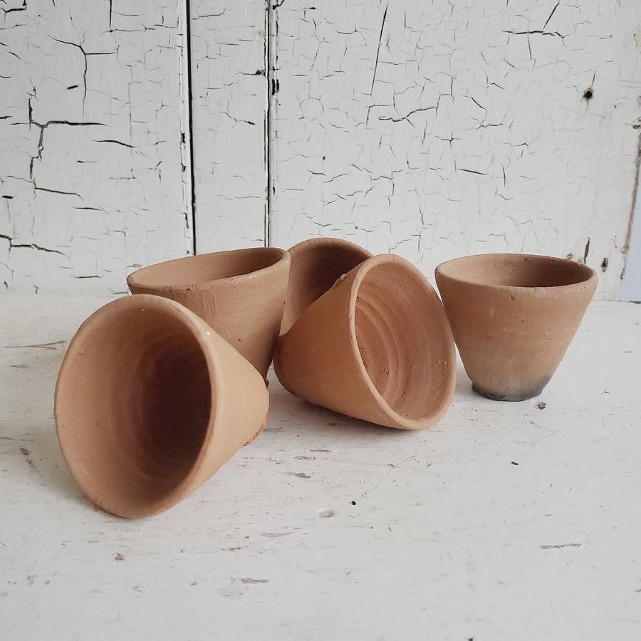 French Terra Cotta Flower Pot