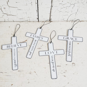 Cross Decor Set