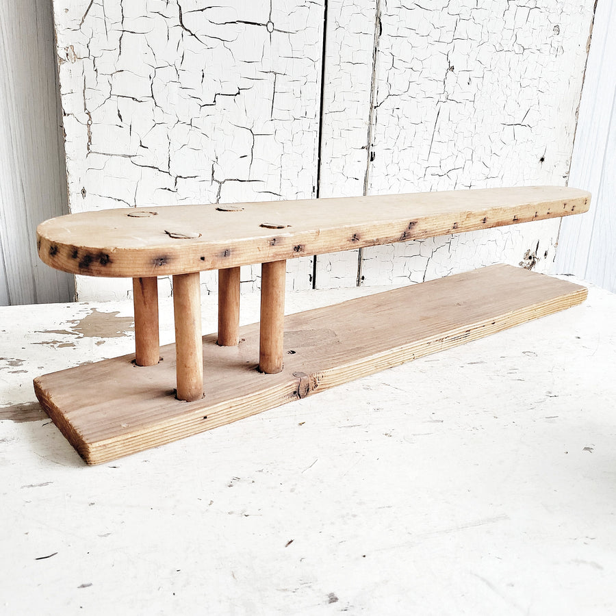 Old Counter Wood Ironing Board