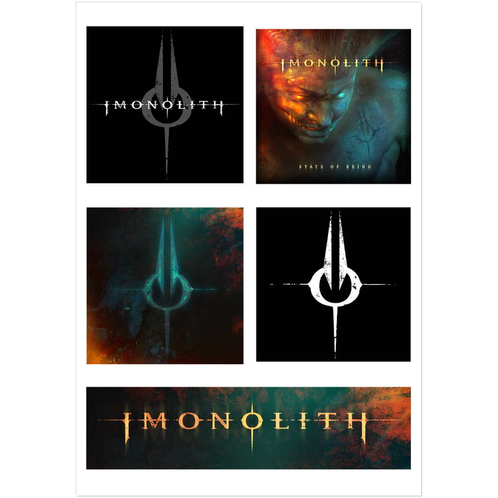 Imonolith Sticker Sheet
