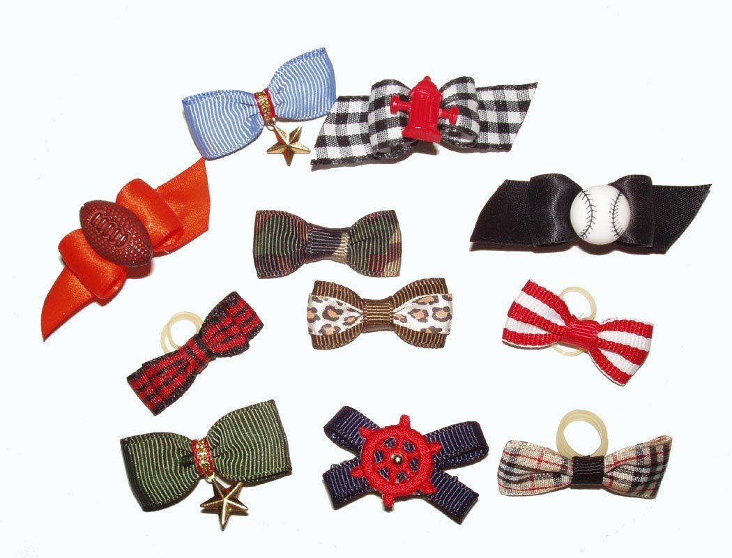 Bows for Boy Dogs