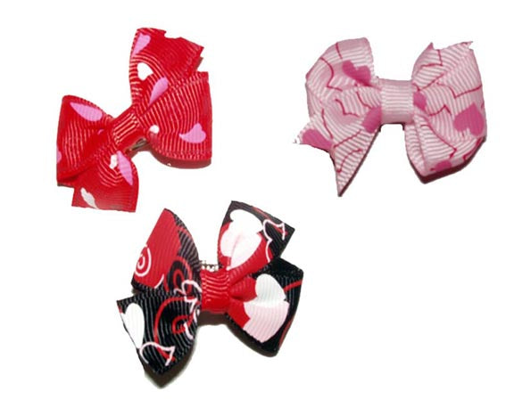 Valentine's Day Dog Hair Accessories