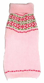 Load image into Gallery viewer, Dog Sweaters-Pink Fair Isle - A Pet's World