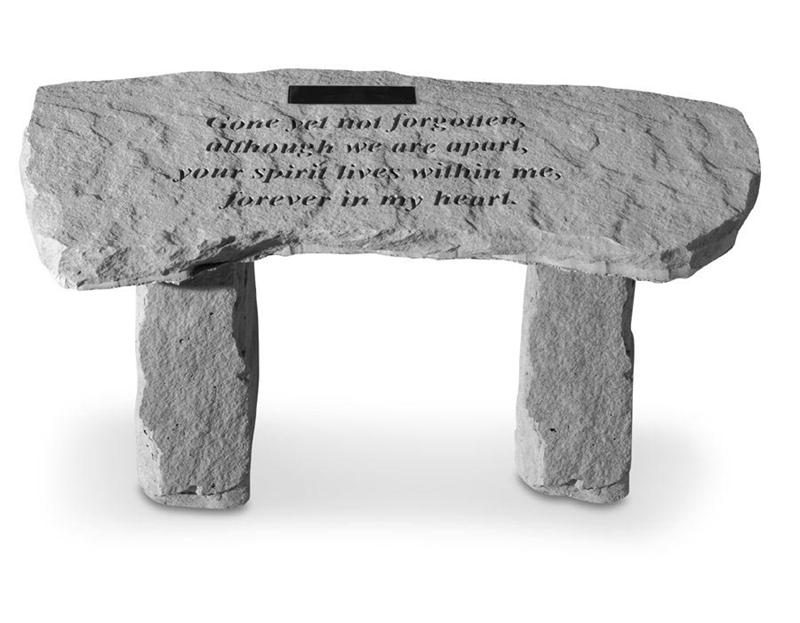 Pet Memorial-Small Bench Personalized - A Pet's World