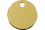 Load image into Gallery viewer, Brass Pet ID Tags in 3 Sizes - A Pet's World